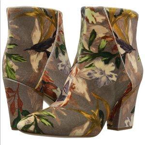 Nine West Satriva Floral Ankle Boot
